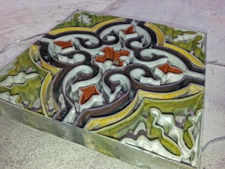 Zementfliesen Zellige Mosaikfliesen Terracotta Zagora